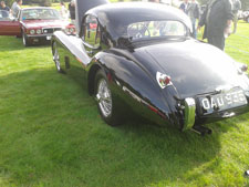 Car of the day XK 120. J.E.C northern day at Ripley Castle. - click to enlarge