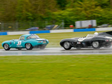 Donnington Historic Festival. - click to enlarge