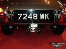 Stunning 3.8 e type fitted with our exhaust equipment. N.E.C. Classic 2013. 3