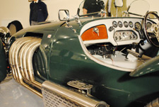 Malcolm Monkhouse and Graham Gash XK engined Ronart. - click to enlarge