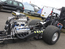 Écosse Motorsport at Santa Pod. Our ceramic coated manifolds WOW ! - click to enlarge