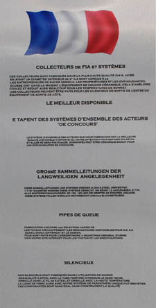 Information in French. - click to enlarge